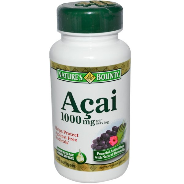 Acai (Акай Бери) Natures Bounty 60 капсули