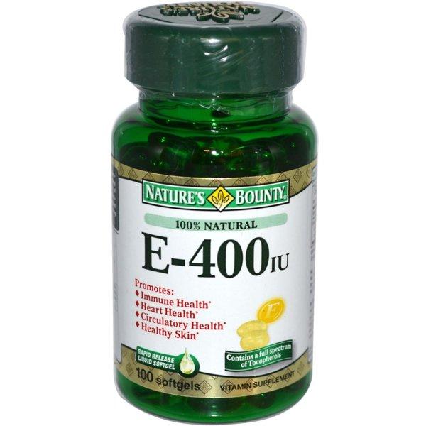 Vitamin E-400 Natures Bounty 120 капсули