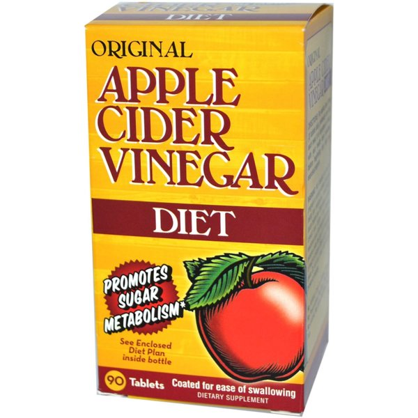 Apple Cider Vinegar Ябълков Оцет Natures Bounty 90 таблетки