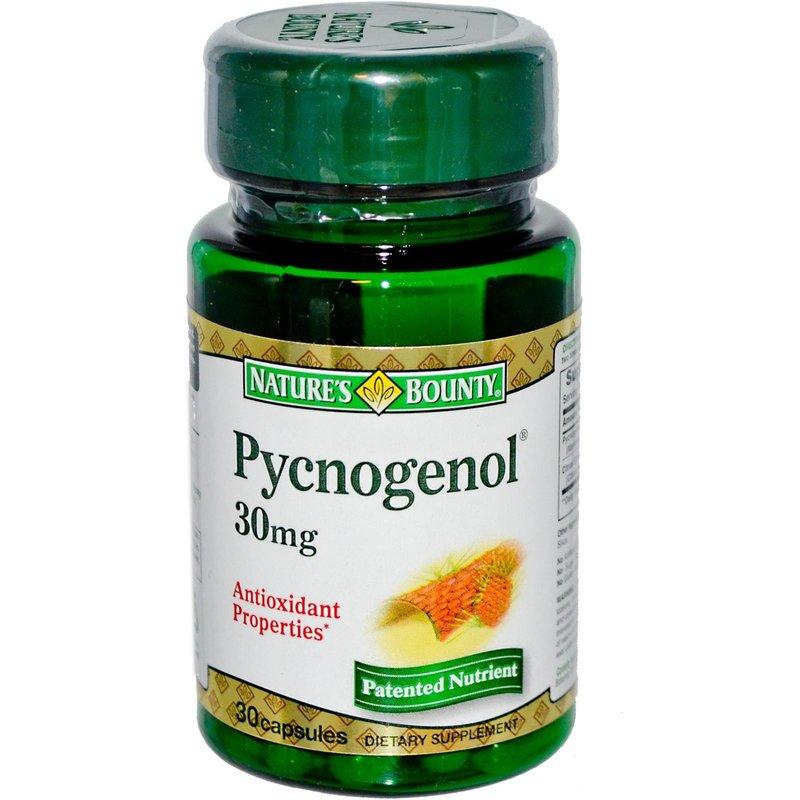 Pycnogenol Natures Bounty 30 капсули