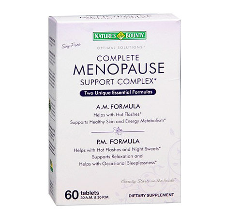 Menopause Support Complex Natures Bounty 60 таблетки