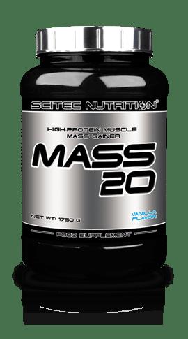 Mass 20 Scitec Nutrition 1750/4000 грама