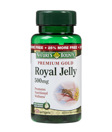 Premium Gold Royal Jelly Natures Bounty 75 дражета