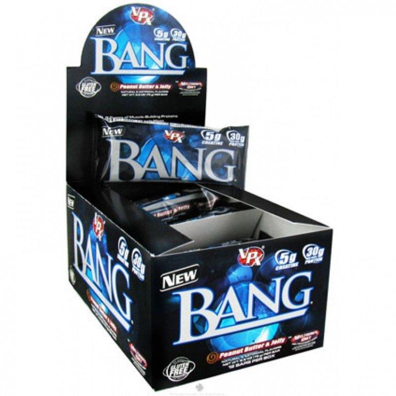 Bang Protein Bar 1 бар х 85 грама / 1 кутия х 12 бара