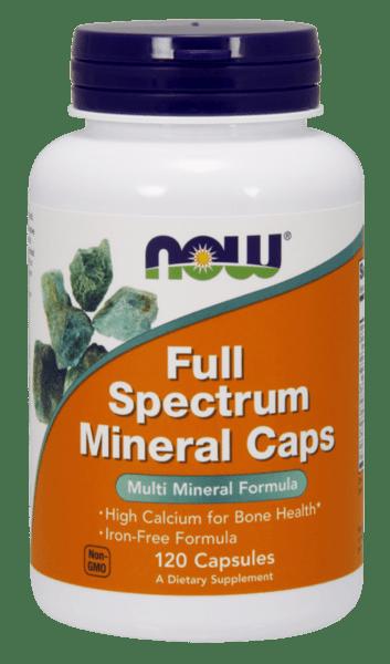 Мултиминерали Пълен Спектър Full Spectrum Minerals NOW Foods 100 таблетки