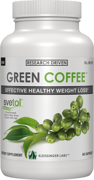Green Coffee Bean (Зелено Кафе) Kleissinger Labs 60 капсули