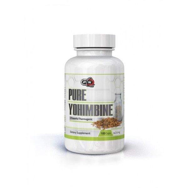 Чист Йохимбин Pure Nutrition 100 капсули