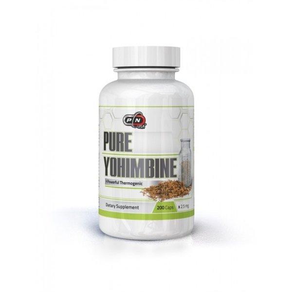 Чист Йохимбин Pure Nutrition 200 капсули