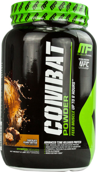 Combat Protein Muscle Pharm 910 грама