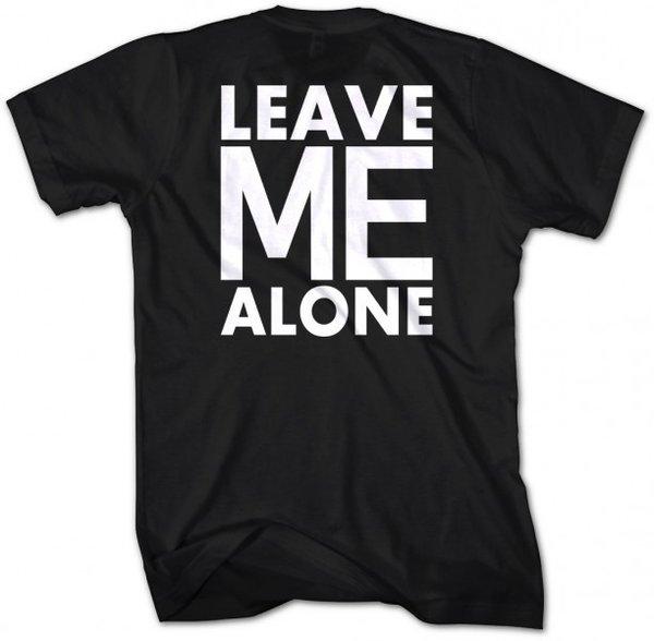 Фитнес тениска Leave Me Alone