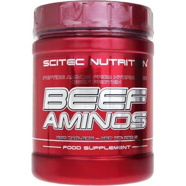 Beef Aminos Scitec Nutrition 200 таблетки
