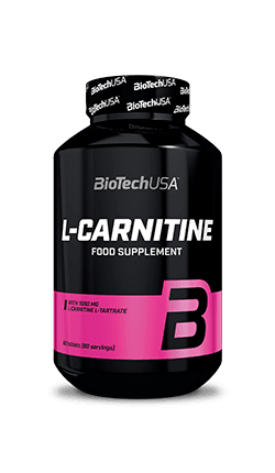 Л-Карнитин Тартрат 1000mg BioTech USA 60 таблетки