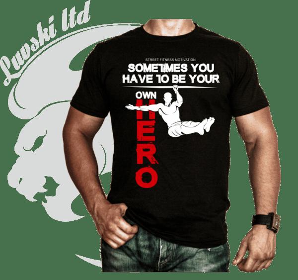 Фитнес тениска OWN Hero