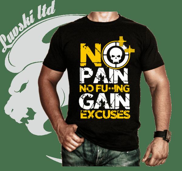 Фитнес Тениска No F**ING Excuses