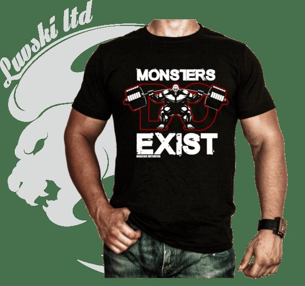 Фитнес Тениска Monster EXIST