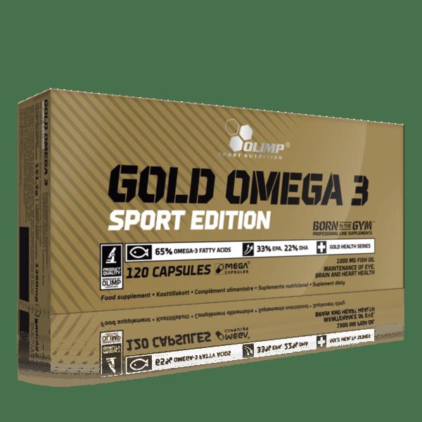 Gold Omega 3 Sport Edition 1000mg Olimp 120 капсули