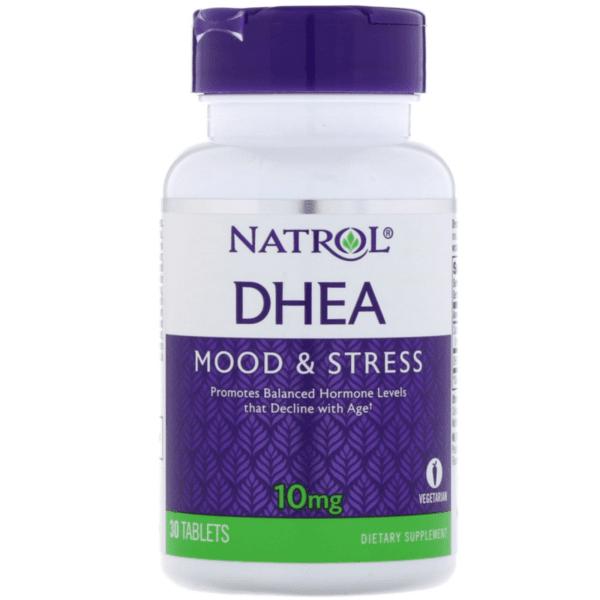DHEA 10mg Natrol 30 таблетки