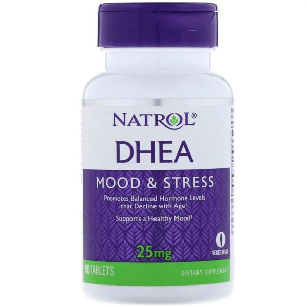 DHEA 25mg Natrol 90/180/300 таблетки