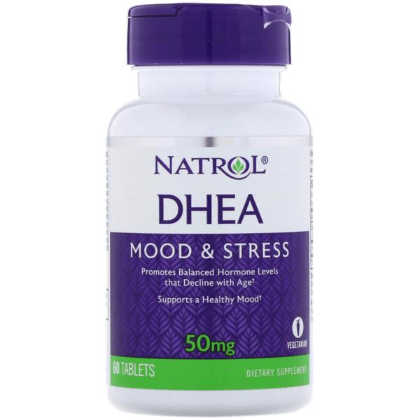 DHEA 50mg Natrol 60 таблетки
