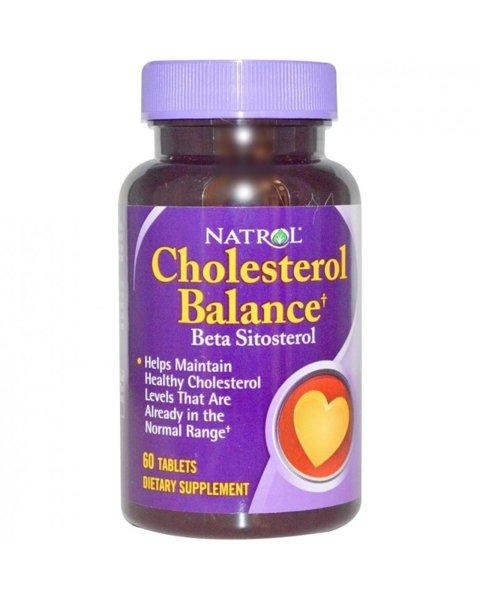 Choleserol Balance Natrol 60 таблетки
