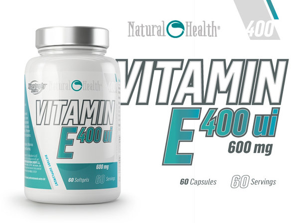 Vitamin E Hypertrophy Nutrition 60 дражета