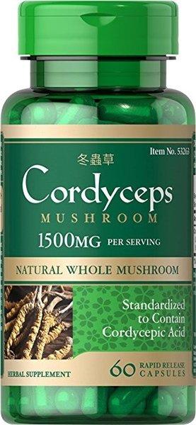 Cordyceps Puritans Pride 60 капсули