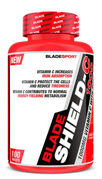 Shield-C 1000mg Rose Hips BLADE Sport 100 таблетки