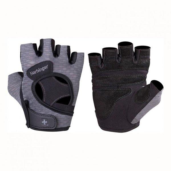 Женски ръкавици за фитнес FlexFit Черно-Сиво Harbinger