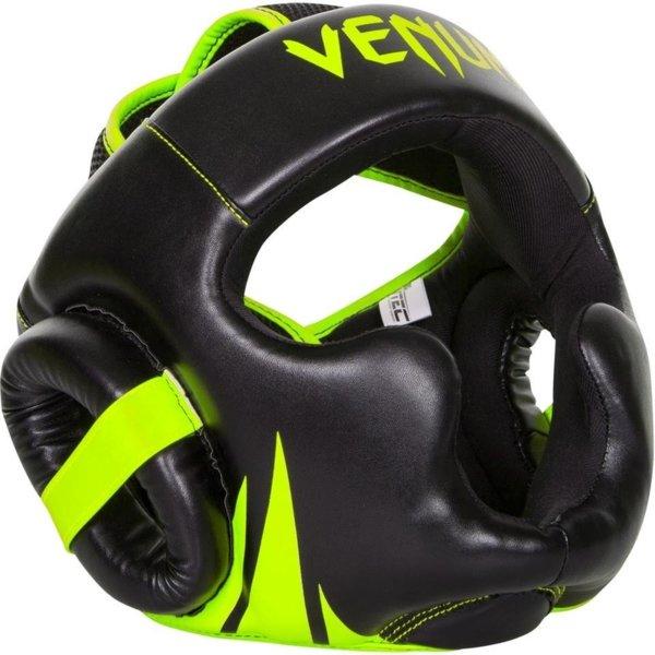 Протектор за глава каска Challenger 2.0 Headgear VENUM черно с жълто