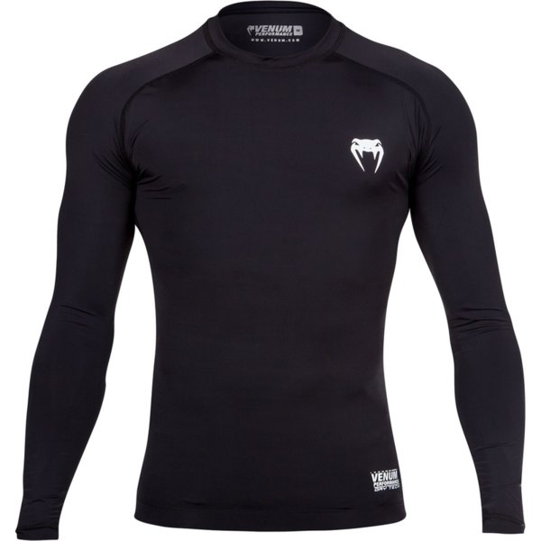Rashguard Contender 2.0 Compression T-Shirt VENUM Black
