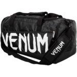 Тренировъчен сак Sparring Sport Bag VENUM Черен с бяло