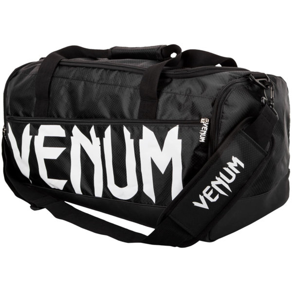 Тренировъчен сак Sparring Sport Bag VENUM Black/White