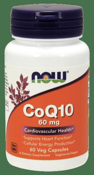 CoQ10 60mg NOW Foods  60 капсули