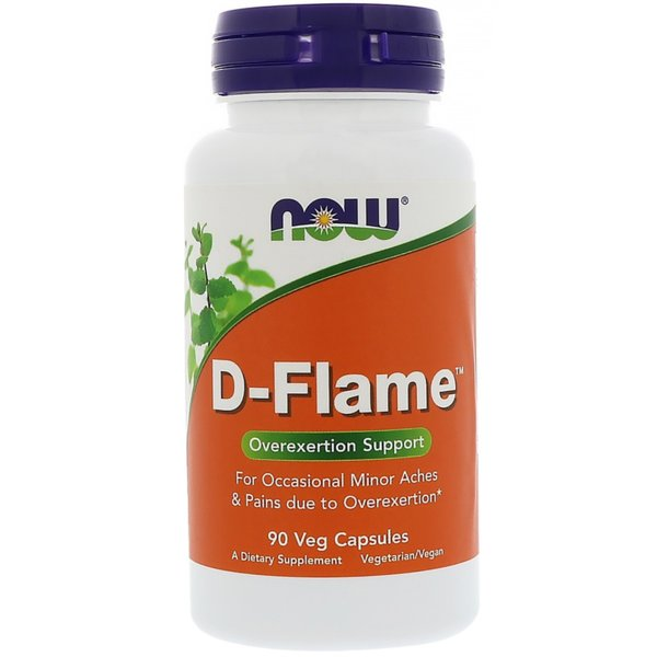 D-Flame NOW Foods 90 капсули