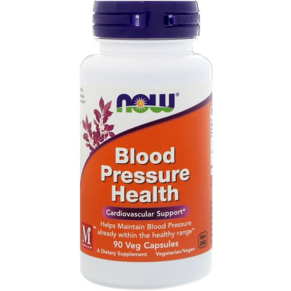 Blood Pressure Health NOW Foods 90 капсули