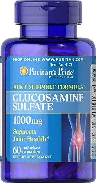 Glucosamine Sulfate /Глюкозамин Сулфат/ Puritans Pride 60 капсули