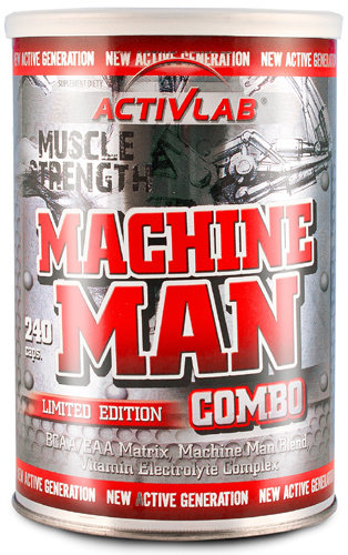Machine Man Combo ActivLab 240 капсули