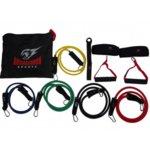 Комплект фитнес ластици за тренировка от 11 части Armageddon Sports