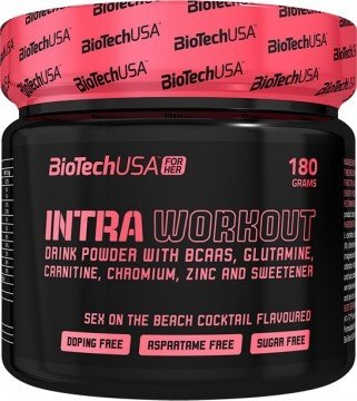 Intra Workout FOR HER BioTech USA 180 грама