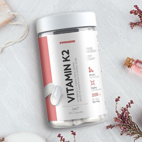 Витамин K2-Mk7 Prozis 60 капсули