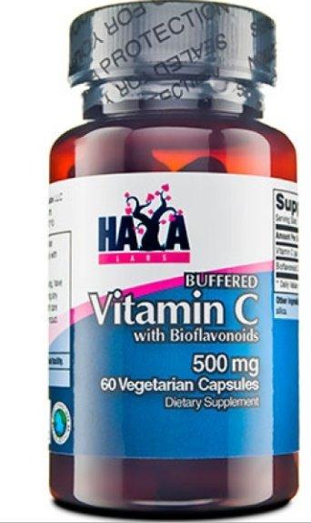 Буфериран Витамин C + биофлавоноиди HAYA 60 капсули