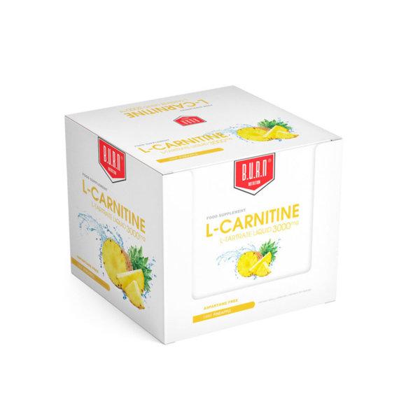 Течен Л-Карнитин + Витамини B и C + Хром 3000 BURN 20 ампули