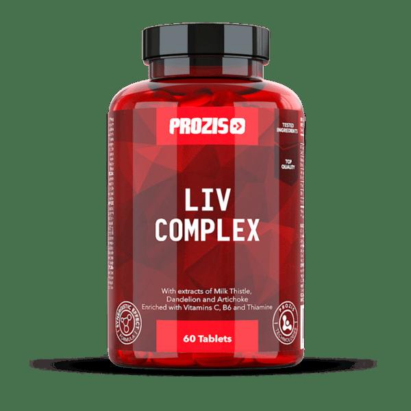 Комплекс за черен дроб Liv Complex Prozis 60 таблетки