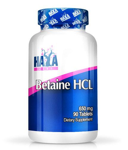 Бетаин Хидрохлорид HAYA 60 таблетки