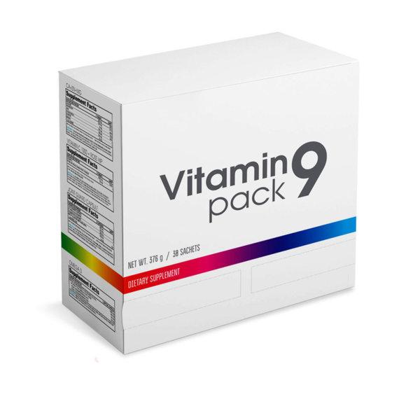 Мултивитамини с комплекс за стави, Омега 3 и Амино Vitamin Pack 9 BURN 30 пакета