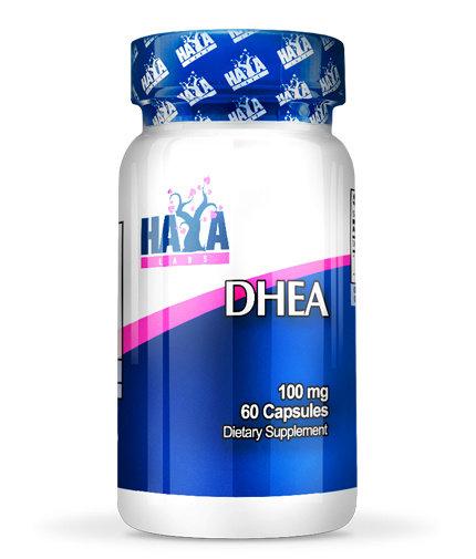 DHEA 100mg Дехидроепиандростерон HAYA 60/180 капсули