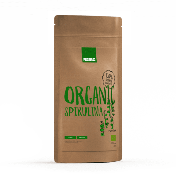 Органична Спирулина на прах Prozis 250 грама