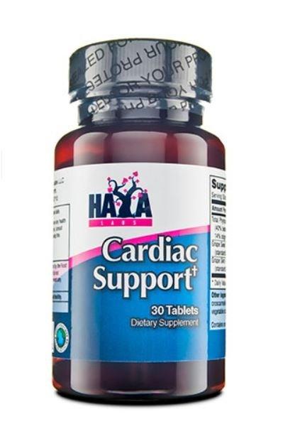 Подкрепа за сърцето Cardiac Support HAYA 30 таблетки
