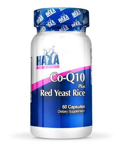 Коензим Q10 с мая от червен ориз CoQ10 60mg Red Yeast Rice HAYA 60 дражета
