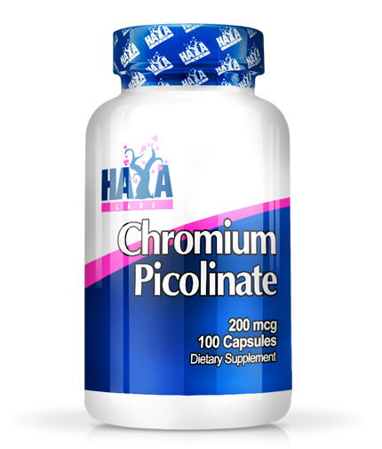 Хром Пиколинат Chromium Picolinate 100 капсули